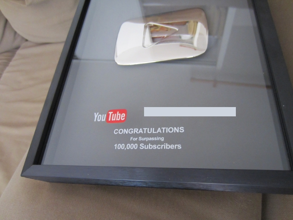 Silver youtube 2015