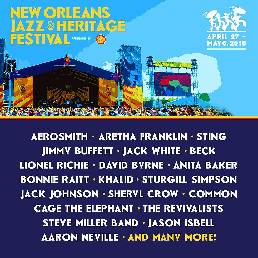 New orleans music festival may 2018