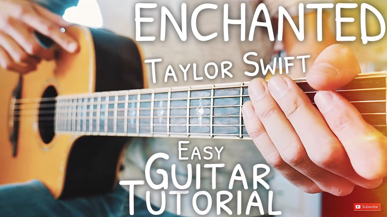 Enchanted taylor swift acoustic cover